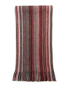 The Men's Store at Bloomingdale's - Multi-Color-Stripe Wool Scarf - 100% Exclusive