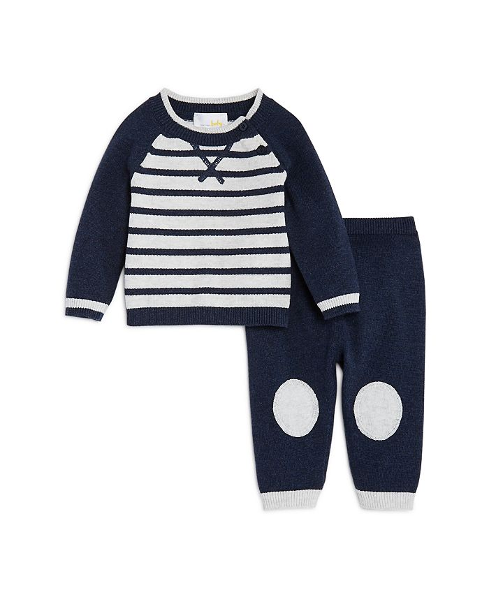 Bloomie's - Boys' Striped Sweater & Knit Pants Set, Baby - 100% Exclusive