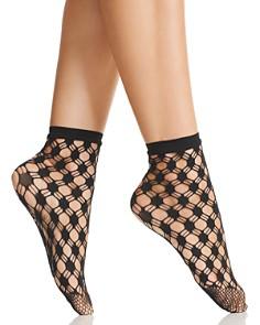 Wolford - Athina Fishnet Socks
