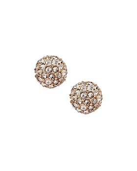 Ralph Lauren - Fireball Pavé Stud Earrings