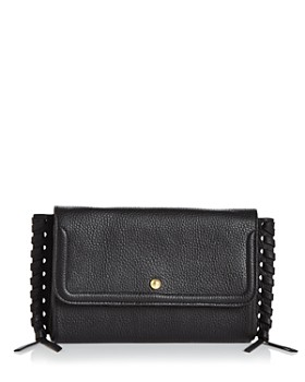 f7ff5a174f6 Annabel Ingall - Emma Oversize Whipstitch Leather Clutch ...