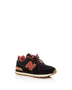 New Balance - Boys' 574 Suede Low-Top Sneakers - Toddler, Little Kid