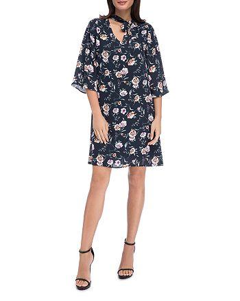 B Collection by Bobeau - Jayne Floral-Print Shift Dress