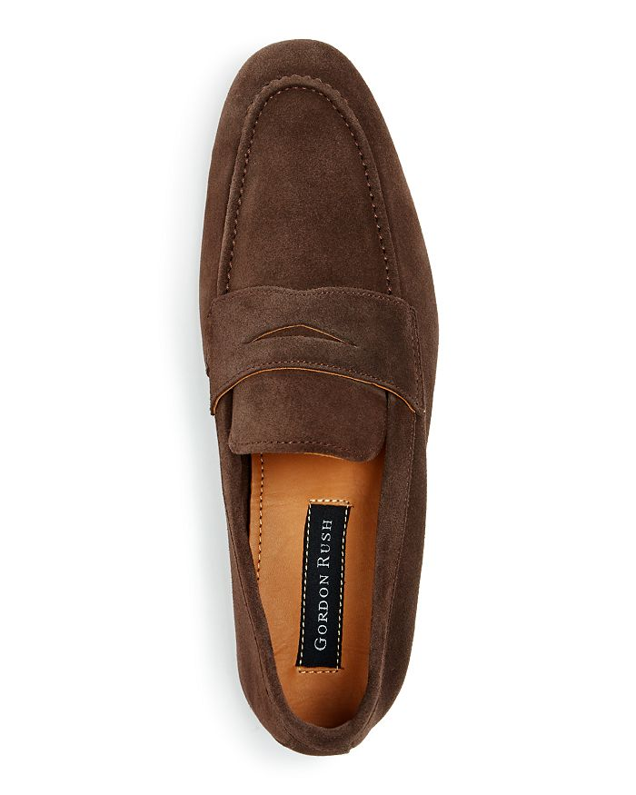 44a71c0b78b Gordon Rush - Men s Wilfred Suede Apron Toe Penny Loafers