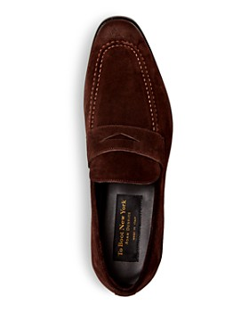 To Boot New York - Men's Raleigh Suede Penny Loafers