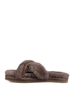 UGG® - Women's Abela Open Toe Sheepskin Slide Sandals
