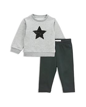 Sovereign Code - Girls' Flip-Sequin Star Sweatshirt & Leggings Set - Baby