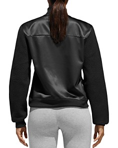 Adidas - ID Satin & Sherpa Fleece Bomber Jacket