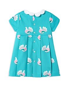 Jacadi - Girls' Pleated Bird-Print Dress - Baby