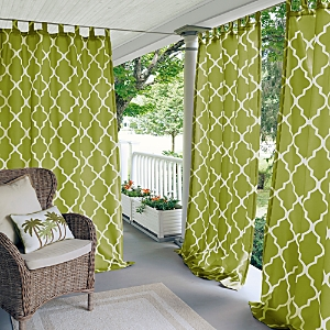 Elrene Home Fashions Corado Geometric Indoor/Outdoor Curtain Panel, 50 x 84