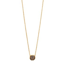 Gorjana - Power Stone Adjustable Pendant Necklace, 18""