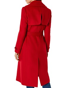 KAREN MILLEN - Belted Double-Breasted Coat - 100% Exclusive