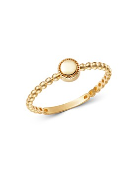 Moon & Meadow - 14K Yellow Gold Circle Ring - 100% Exclusive