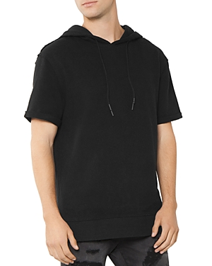 Patron Saint Of Raptor Short-Sleeve Hooded Sweatshirt