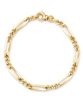 Bloomingdale's - Link Chain Bracelet in 14K Yellow Gold - 100% Exclusive