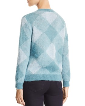 Emporio Armani - Tonal Plaid Sweater