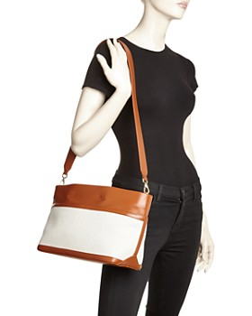 VASIC - Carries Mini Leather & Canvas Tote