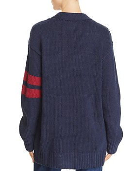Tommy Jeans - Oversized Varsity Sweater