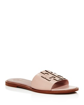 8e969b2ddebe1b Tory Burch - Women s Ines Leather Slide Sandals ...