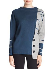 NIC and ZOE - Asymmetric Toggle Sweater