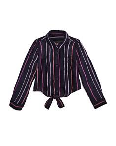 Rails - Girls' Striped Valerie Shirt - Little Kid, Big Kid