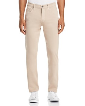 PAIGE - Federal Slim Straight Fit Jeans in Toasted Almond