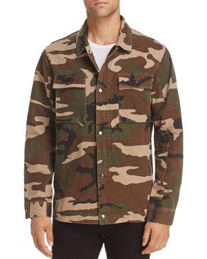 Rails Wendell Camo Zip Jacket