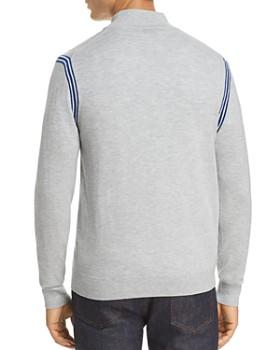 Michael Kors - Active Stripe Zip Sweater
