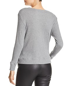 Enza Costa - Heathered Thermal Top
