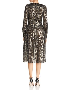 MILLY - Katy Metallic-Print Dress