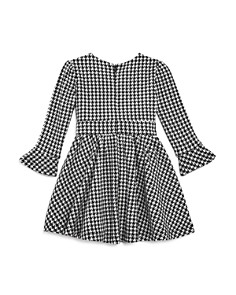 Bardot Junior - Girls' Houndstooth Dress with Bow - Baby
