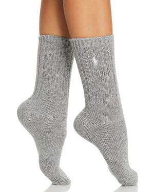 Wool Rib Boot Socks, Sweatshirt