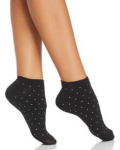 kate spade new york - Micro Dot No-Show Socks