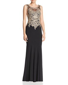 4898af6271e5 Avery G - Embroidered Bodice Gown ...