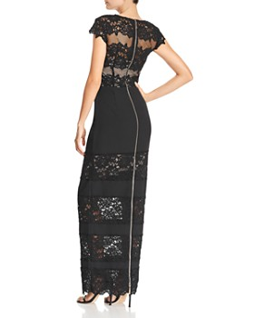 BRONX AND BANCO - Banded Lace Gown