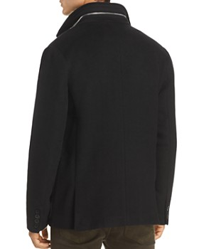 KARL LAGERFELD Paris - Faux-Shearling Bibbed Jacket