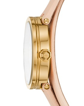 Tory Burch - The Reva Pink Wrap Strap Watch, 28mm