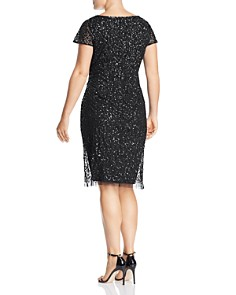 Adrianna Papell Plus - Embellished Sheath Dress