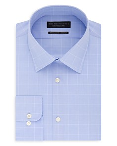 The Men's Store at Bloomingdale's Plaid Regular Fit Dress Shirt_0