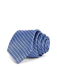 Ted Baker Herringbone Jacquard Silk Skinny Tie - Bloomingdale's_0