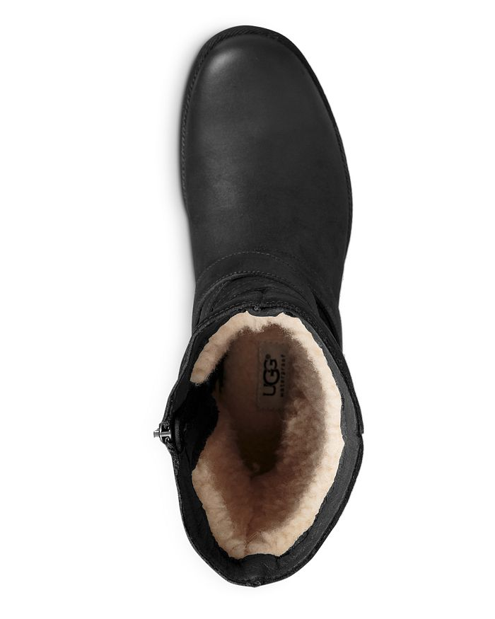 12ad51e126f Women's Lorna Round Toe Leather Boots