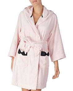 kate spade new york - Hooded Fleece Robe
