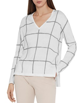 REISS - Alegria Checkered Sweater