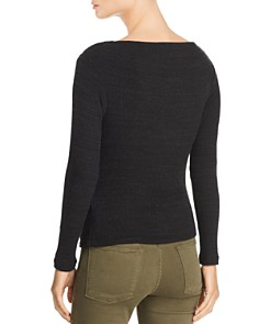 LNA - Clyde Ribbed Cutout Sweater