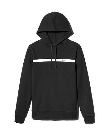A.P.C. - Logo-Print Hooded Sweatshirt