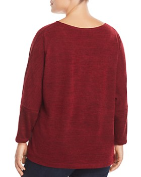 Status by Chenault Plus - Scoop Neck Top