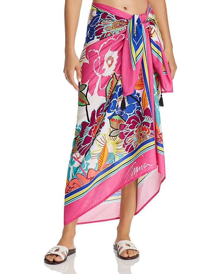 75f0c7207d Trina Turk Radiant Blooms Pareo Swim Cover-Up | Bloomingdale's