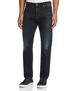 7 For All Mankind - Adrien Slim Fit Jeans in Dark Terrain