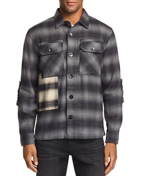 Joe's Jeans - Plaid Patchwork Regular Fit Shirt - 100% Exclusive