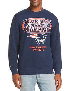 MITCHELL & NESS - Greats Super Bowl Champion Patriots Fleece Sweatshirt